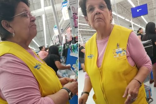 Walmart worker to customer: Speak English since 'we're in Texas'