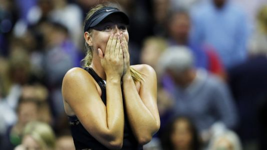 Watch Maria Sharapova Feel All The Feels After Upset Win At U.S. Open