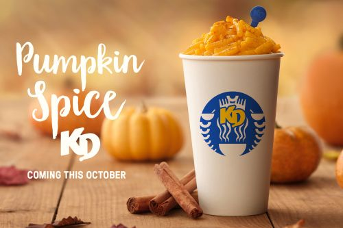 Kraft offering limited edition Pumpkin Spice Mac & Cheese this fall