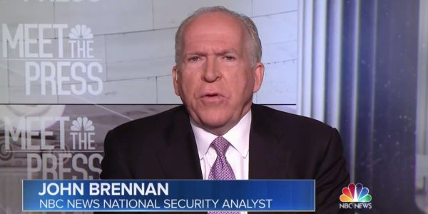 Brennan is considering legal action to hit back after Trump revoked his security clearance