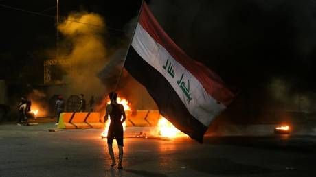 Iraqi protesters reportedly set Iranian consulate on fire amid fury over assassination of activist