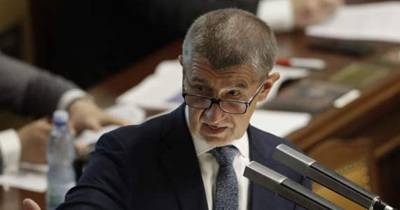 Czech Cabinet survives no-confidence vote over PM's scandal