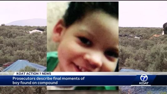 Prosecutors describe final moments of boy found on compound