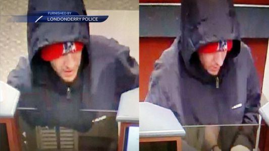 Londonderry police looking for bank robbery suspect