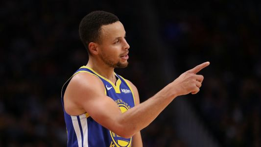 WATCH: Kings troll Stephen Curry by playing clips of moon landing in player intros
