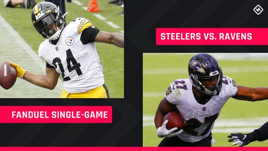 Steelers-Ravens FanDuel Picks: NFL DFS lineup advice for Week 12 Wednesday afternoon single-game tournaments