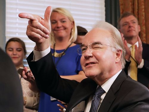 Tom Price's reasons for taking private jets at taxpayers' expense don't add up, report says