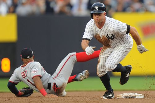This wasn't just a normal day off for Brett Gardner