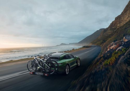 Porsche launched a pair of $10,000 electric bikes to match its $91,000 Taycan Cross Turismo EV - see both