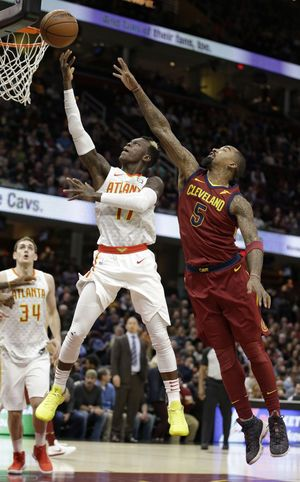 James scores 25 has 17 assists, as Cavs beat Hawks 123-114