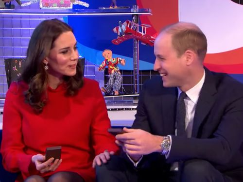 Prince William and Kate Middleton broke from royal tradition with a rare public display of affection - and it might have been inspired by Meghan Markle