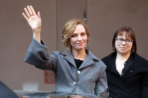 Uma Thurman sends message to Harvey Weinstein and his 'wicked conspirators'