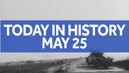 Today in history for May 25: 1st, only US nuclear weapon fired from cannon