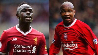 Mane worried Diouf love could anger Liverpool fans