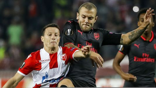 'I told you we have some' - Wilshere snaps back at Deeney after Belgrade win