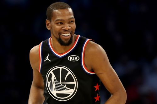 Kevin Durant partied even before becoming NBA All-Star Game MVP