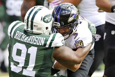 So this is what happens when Sheldon Richardson plays right position