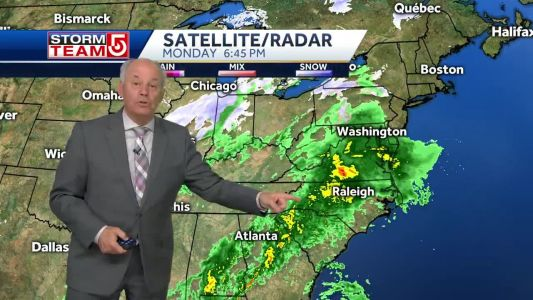 Video: First storm hits overnight; another potent storm Friday