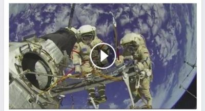 Millions Fooled by Facebook Live Spacewalk
