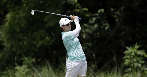 Nelly Korda makes it a genuine family affair in Australia