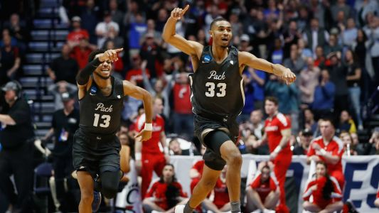 March Madness 2018: No. 7 Nevada celebrates sending No. 2 Cincinnati home