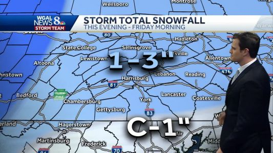 Central Pennsylvania weather: Double shot of winter storms