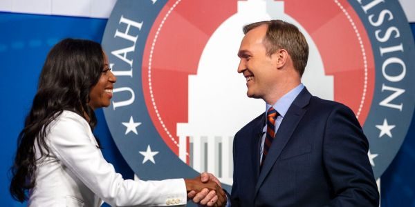 First-term Rep. Ben McAdams and Burgess Owens face off in Utah's 4th Congressional District