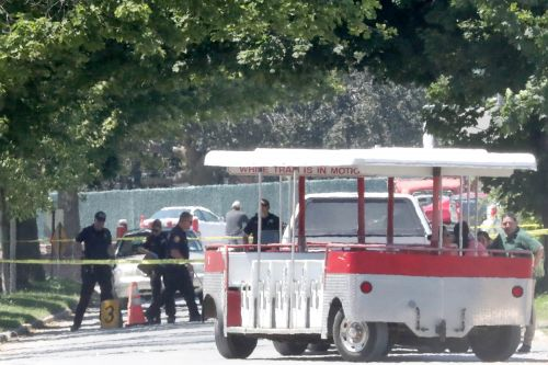 Woman fatally stabbed at Belmont Park race track: cops