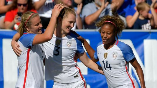 Mewis, Press lead USWNT to dominant win over South Korea
