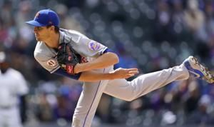 Mets' deGrom strikes out 9 in row, 1 shy of Seaver's record