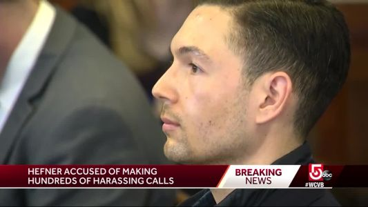 Bryon Hefner sentenced to probation for harassing phone calls