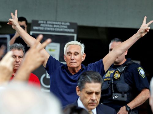 One unintended side effect of the Mueller investigation? Roger Stone has become a meme master