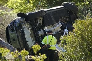 Road where Tiger Woods crashed is known for high speeds
