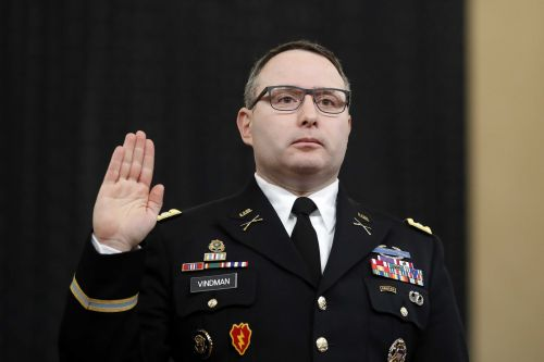 Lt. Col. Alexander Vindman, impeachment witness, announces he will retire from military