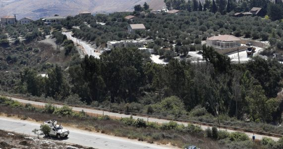Israel building underground defense system on Lebanon border