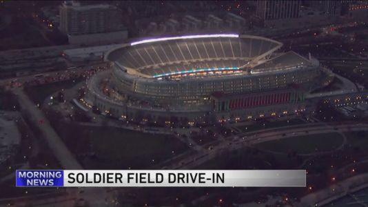 Soldier Field to become Chicago's most scenic drive-in movie theater