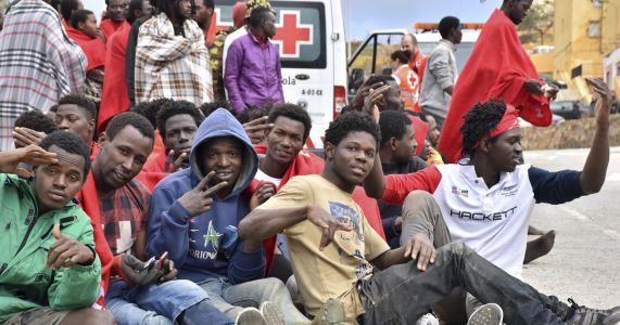 Migrants shift to old, risky route to Spain and Europe