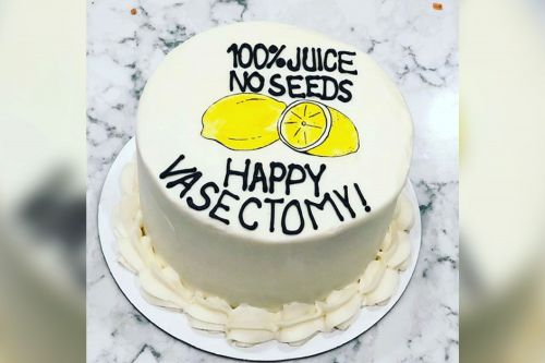 Tennessee bakery's hilarious 'vasectomy cake' goes viral