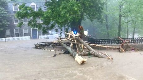 Most dramatic images of Maryland's catastrophic flash flood