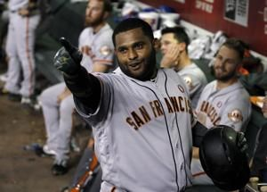 Sandoval, Belt homer in Giants' win over D'backs