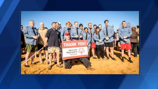 Howard County police double goal set for Special Olympics Maryland ahead of plunge