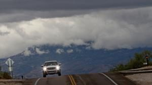 Slick conditions on Arizona highways due to snow and ice
