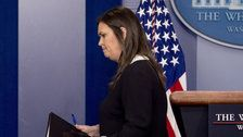 White House Briefing Room After Rare Presser: 'Do Your Job, Sarah!'