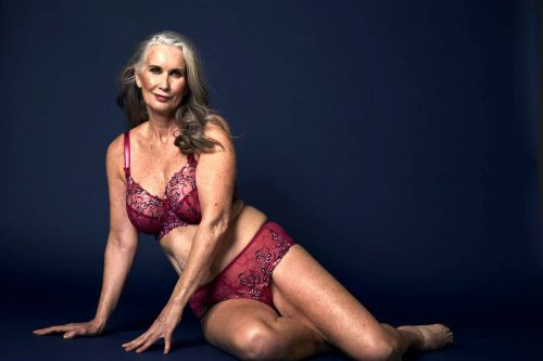 How a shy 59-year-old mom became a sexy lingerie model