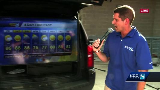 Videocast: Last few days of the fair will be humid
