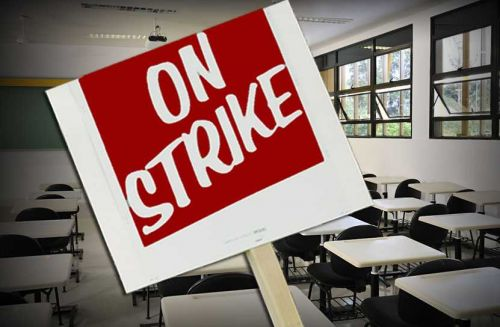 Keystone Oaks Education Association delivers strike notice to school district