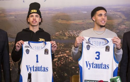 LiAngelo, LaMelo Ball scoreless in pro debut in Lithuania