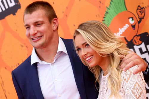 Rob Gronkowski and girlfriend keep celebration rolling at wedding