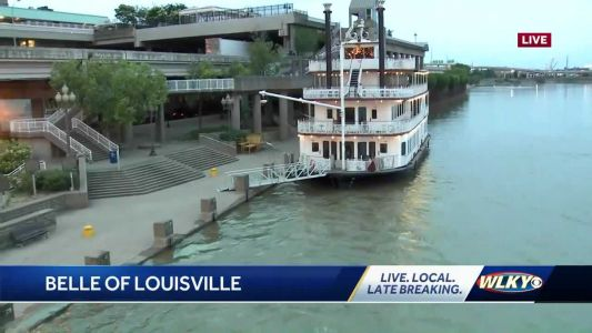 Take a cruise on the Louisville Belle and explore history