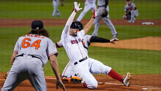 Red Sox rout Orioles at Fenway for third straight win
